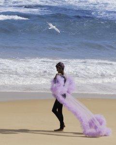 Amutha Emkew artist melbourne music beach outfit